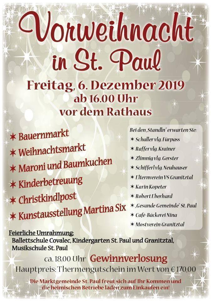 Vorweihnacht in St. Paul