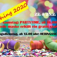 Fasching 2020 - Partytime