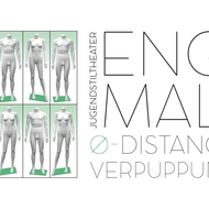 Fill-And-Store-Art Ausstellung: ENGMAL Ø-Distance Verpuppung